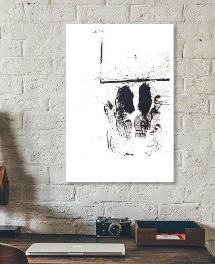 Box Jump Screen Print Crossfit Canvas